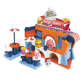 Shopkins S3 Kinstructions Burger Bistro Scene Set