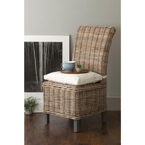 East At Main's Sumter Grey Rattan Dining Chair