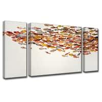 Ready2HangArt 'Heatwave' by Norman Wyatt, Jr. 3-Piece Canvas Art Set