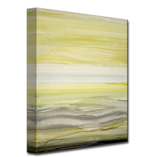 Sun and Shade' Abstract Wrapped Canvas Wall Art