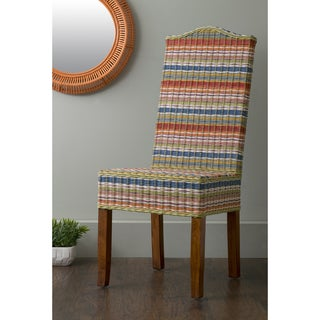 East At Main's Heaton Multi-Colored Rattan Dining Chair