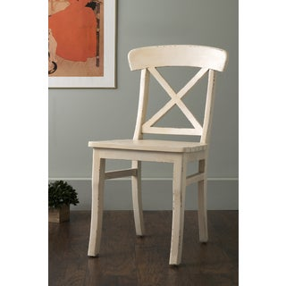 East At Main's Hamlet Off-White Mango Wood Dining Chair