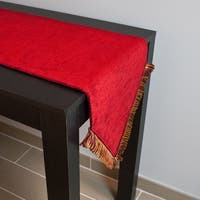 Sherry Kline Hartwell Red Table Runner