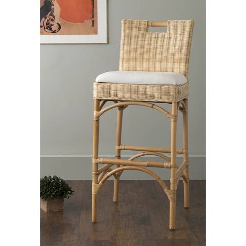 East at Main's Barton Beige Rattan Barstool