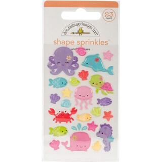 Doodlebug Sprinkles Adhesive Glossy Enamel Embellishments