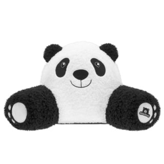 Bed Rest Relaximals Panda Black and White Polyester Throw Pillow