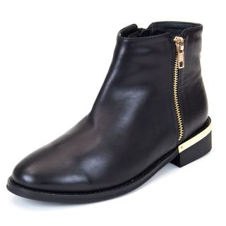 GC Shoes Women's Corrine Black Ankle Boot
