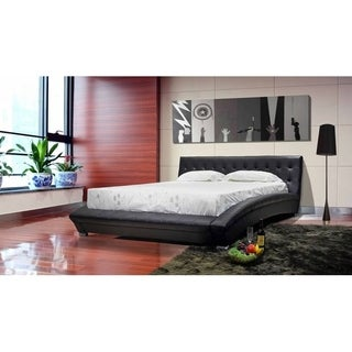 Greatime Vinyl Platform Bed