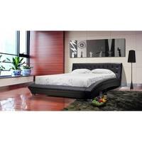 Greatime Vinyl Platform Bed