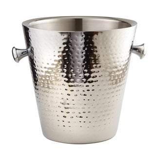 Elegance Double Wall Hammered Champagne Bucket