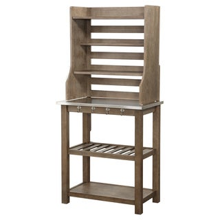 Boraam Ind. Stainless Steel Bakers Rack