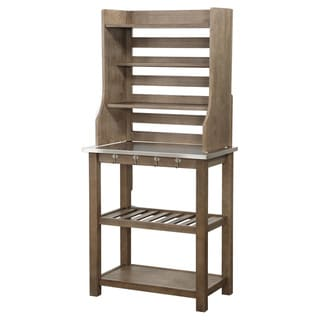 Stainless Steel Bakers Rack by Boraam