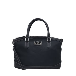 London Fog Addison Dome Satchel Handbag