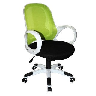 Boraam Industries Nelson Modern Green Rolling Office Chair