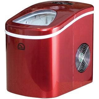 Igloo ICE108-RED Red Compact Ice Maker (Refurbished)