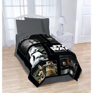Star Wars Rogue 1 Imperial Trooper Twin Blanket