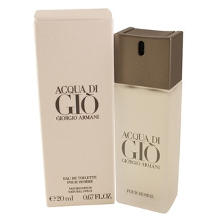 Giorgio Armani's Acqua Di Gio Men's 0.67-ounce Eau de Toilette Spray