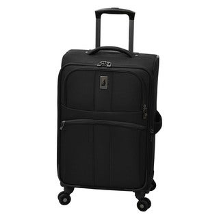 London Fog Wellington 21-inch Expandable 8-Wheel Spinner Carry-on Suitcase