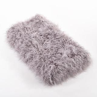 Faux Mongolian Fur Throw