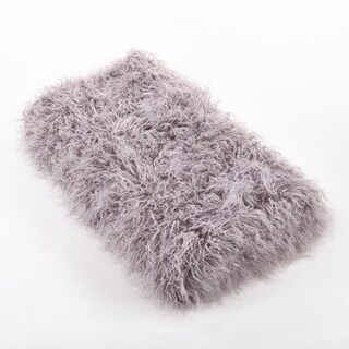 Faux Mongolian Fur Throw