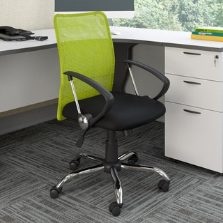 Porch & Den Oakwood Contoured Mesh Back Office Chair