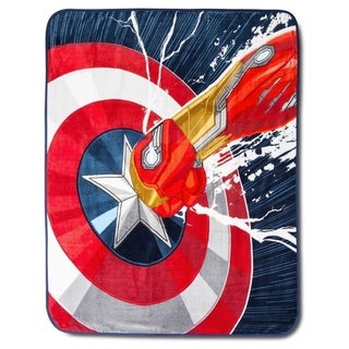 Marvel Captain America Civil War Throw