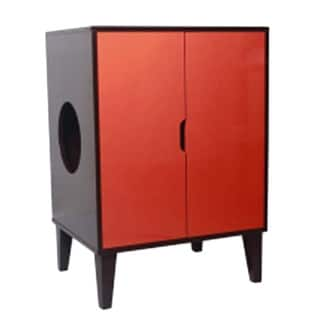 Penn Plax CatWalk Privacy Please Litter Cabinet