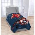 Marvel Captain America Civil War Twin Blanket