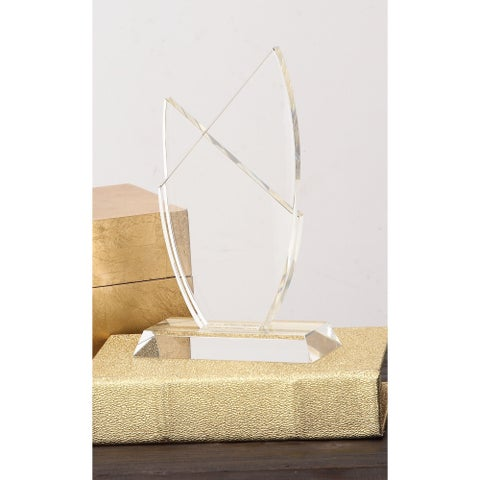 Urban Designs Majestic Clear Crystal Trophy Sculpture