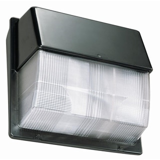 Lithonia Lighting Luminaire TWP LED 20C 40K 45-Watt Bronze LED Wall Pack with Polycarbonate Lens