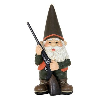 Exhart Resin Hunting Gnome