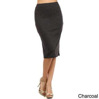 Women's Solid Pencil Skirt (2 options available)