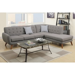 Ayrum Sectional Sofa Upholstered in Poly Fiber