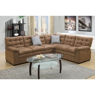 Meghri Sectional Sofa Upholstered in Microfiber