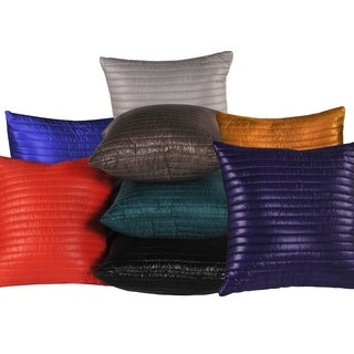 Quilted Lightweight Nylon Decorative Pillow