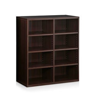 Furinno Indo Espresso Stackable Accessories Storage Shelf