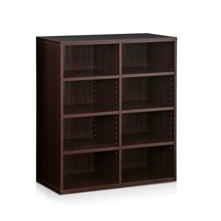 Furinno Indo Espresso Stackable Accessories Storage Shelf