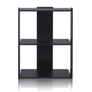 Furinno Hidup Tropika Espresso MDF Medium Ladder Shelf