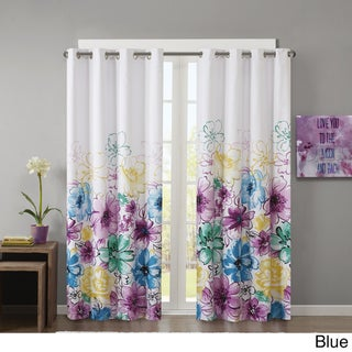 The Curated Nomad Lurline Printed Lined Blackout Winow Curtain (2 options available)