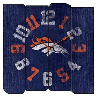 Dnvr Broncos Vintage Squr Clk