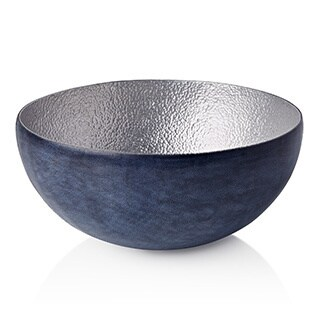 Malian Refugee Handmade Small Decorative Hammered Aluminum Bowl (Burkina Faso)