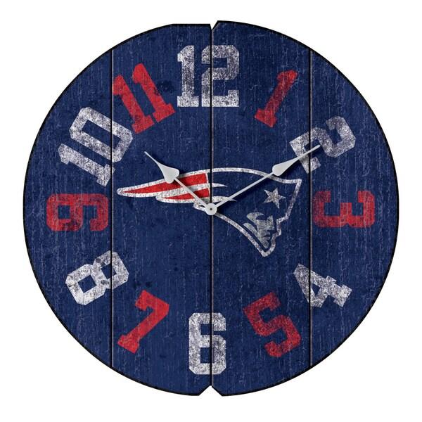Vintage Round Clock Patriots