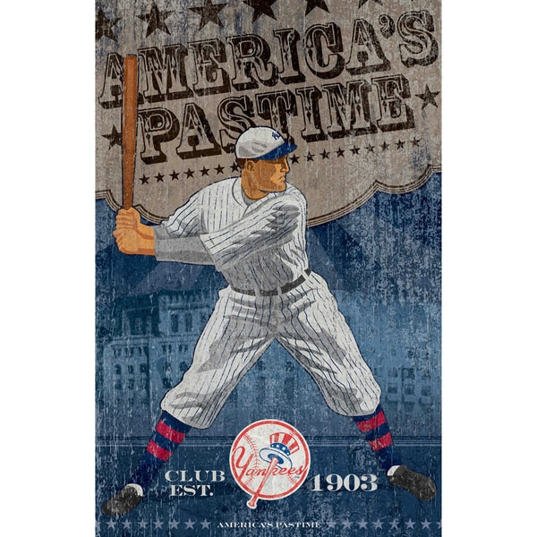 NY Yankees Vintage Wall Art