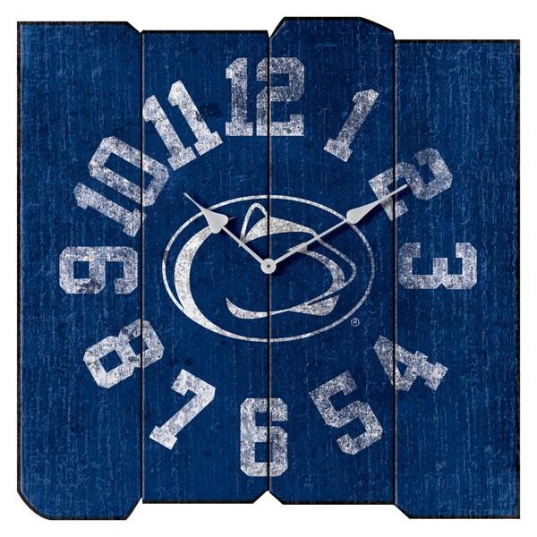 Penn State Vintage Sqaure Clock