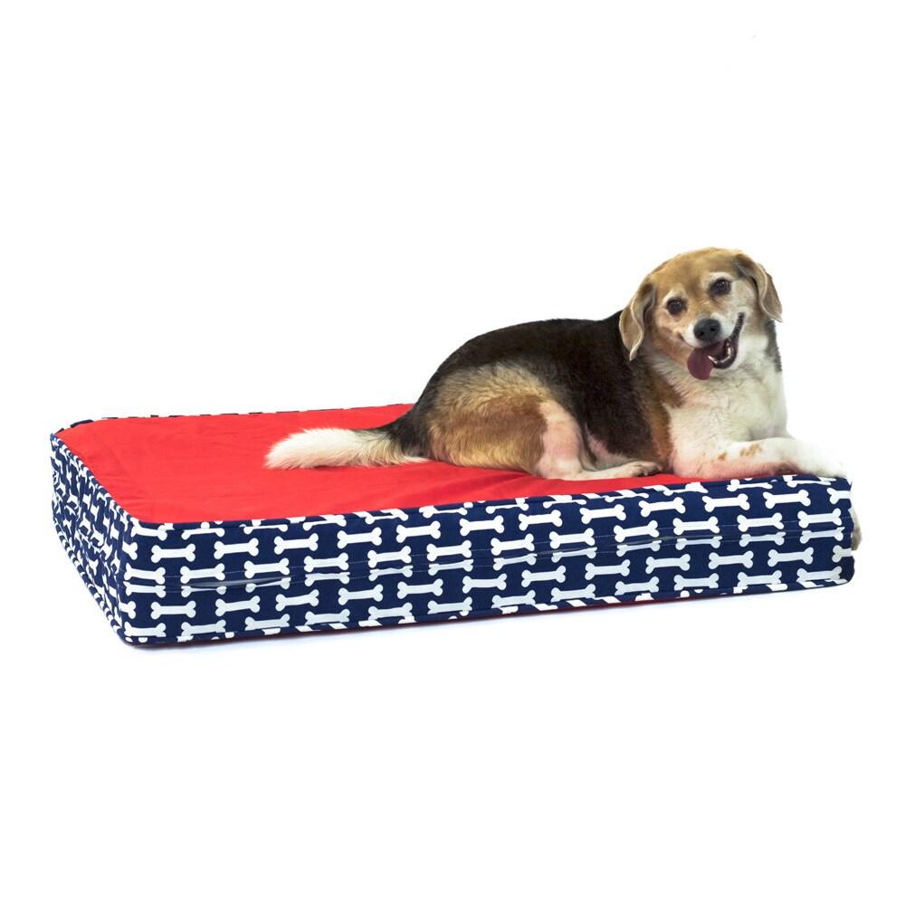 Give a Dog a Bone Gel Memory Foam Orthopedic Dog Bed (Sma...