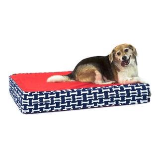 Give a Dog a Bone Gel Memory Foam Orthopedic Dog Bed