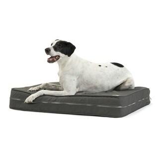 Charcoal Gel Orthopedic Dog Bed with 5'' True Memory Foam