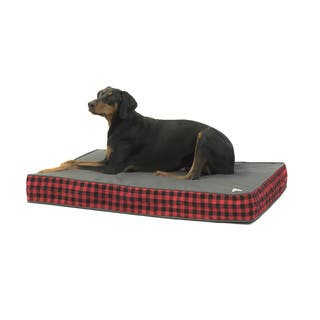 LumberJack Gel Memory Foam Orthopedic Dog Bed|https://ak1.ostkcdn.com/images/products/13232392/P19948623.jpg?impolicy=medium