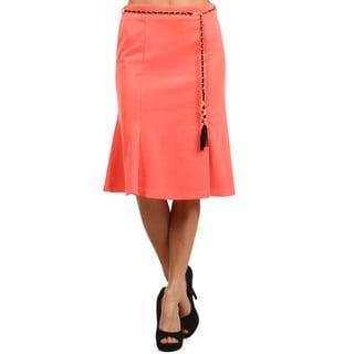 Women's Abstract Elastic Skirt (Option: S)