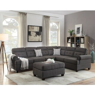 Gyumri Sectional Sofa Upholstered in Dorris Fabric